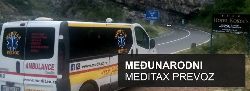 Meditax - međunarodni prevoz